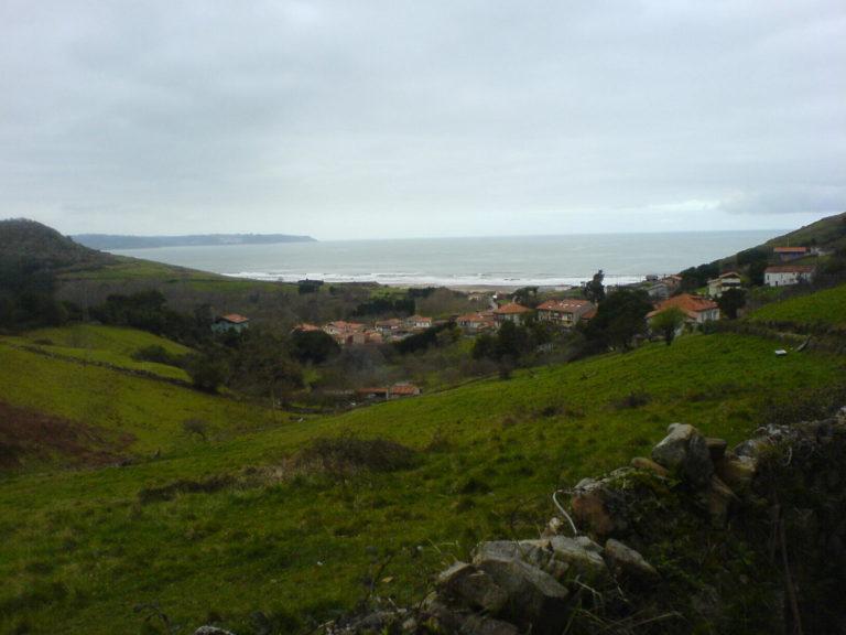 Blick auf das Meer in Nordspanien