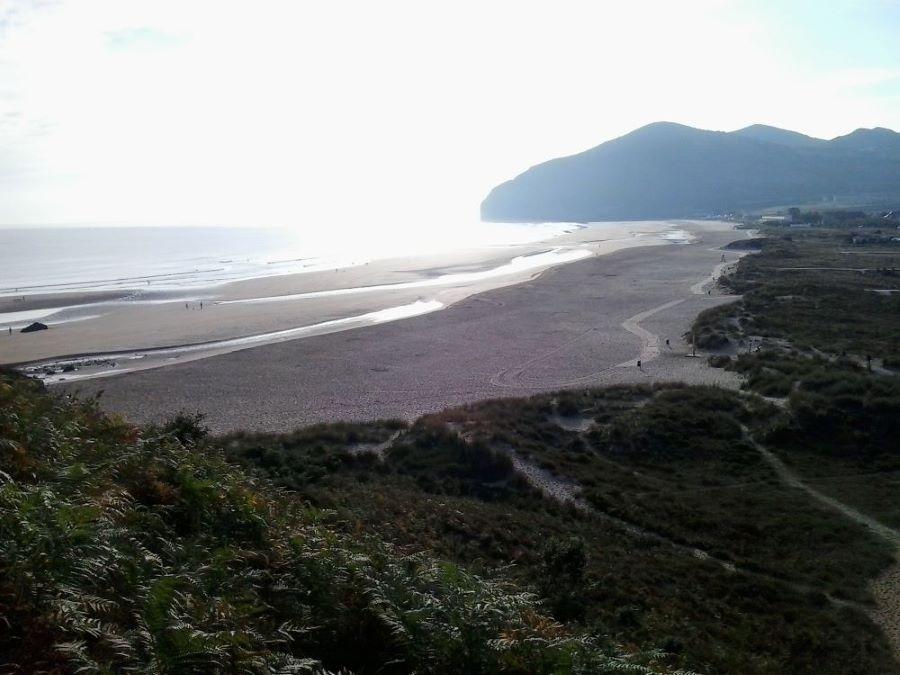 Herrlicher Meerblick auf dem Camino del Norte neu