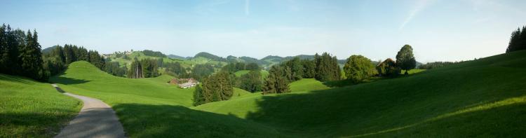 Schweizer Jakobsweg Idyll