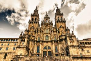 Die Kathedrale in Santiago