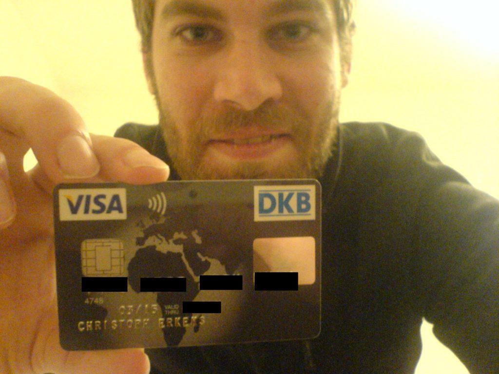 Meine Reise-Kreditkarte von der DKB.