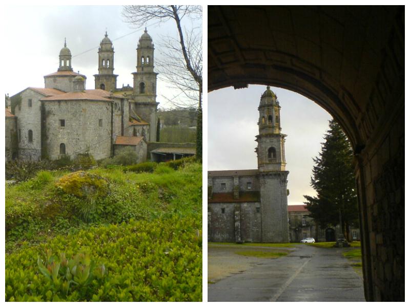 Kloster in Sobrado dos Monxes auf dem Camino del Norte.