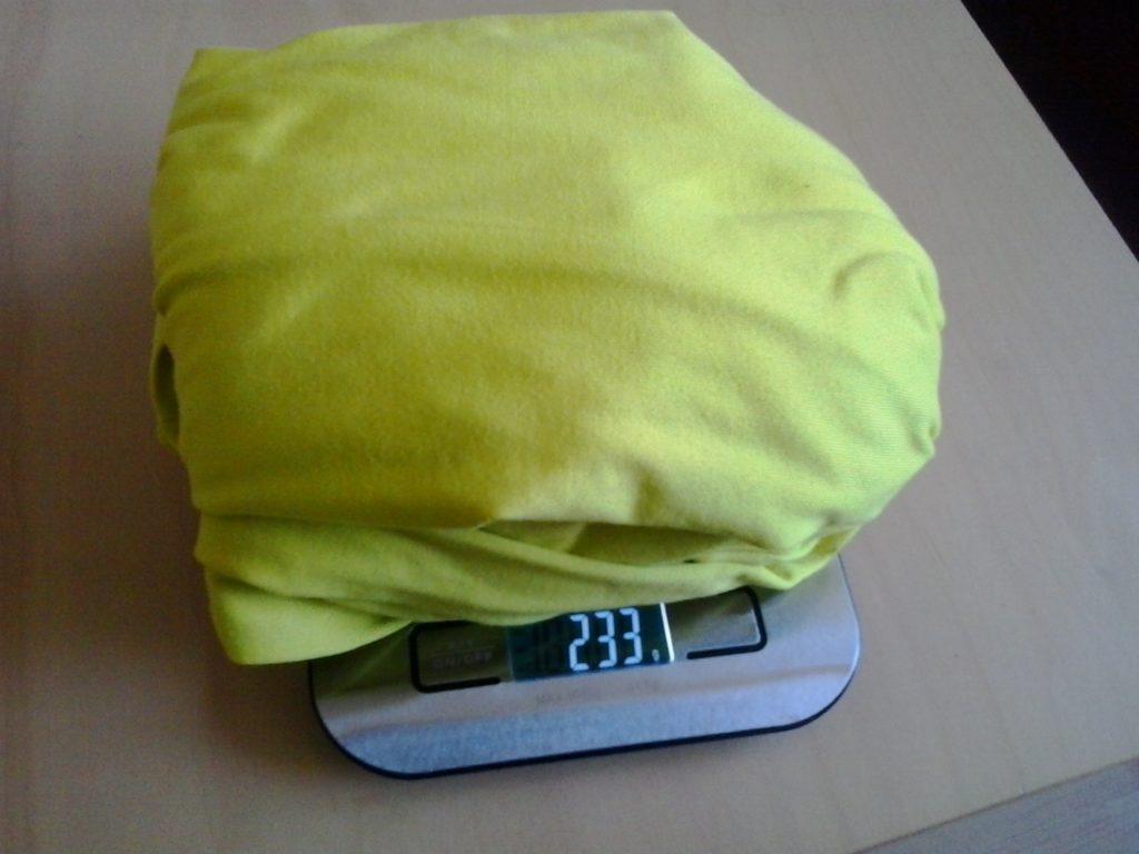 Gepäck wiegen