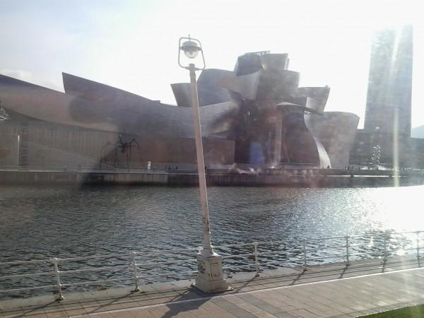 Das bekannten Guggenheim-Museum in Bilbao.