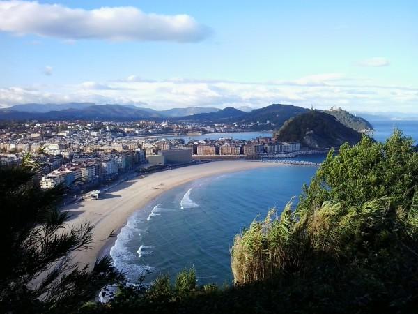 Blick auf San Sebastian