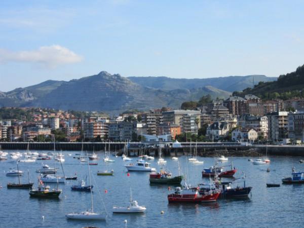 Hafen in Castro Urdiales.