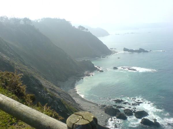 Beeindruckender Ausblick auf das Meer hinter Soto del Barco.