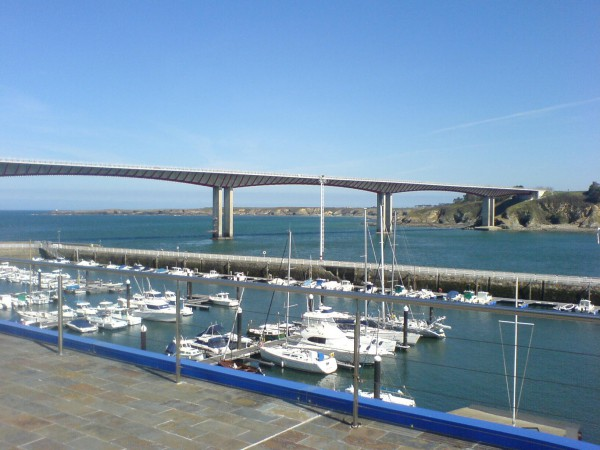 Die Brücke nach Ribadeo.