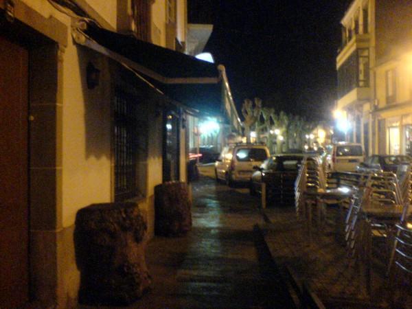 Das Restaurant in Vilanova de Lourenza, wo ich zu Abend gegessen habe.