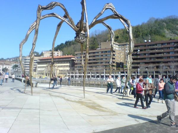 Jakobsweg Küstenweg 10. Etappe Lezama - Bilbao