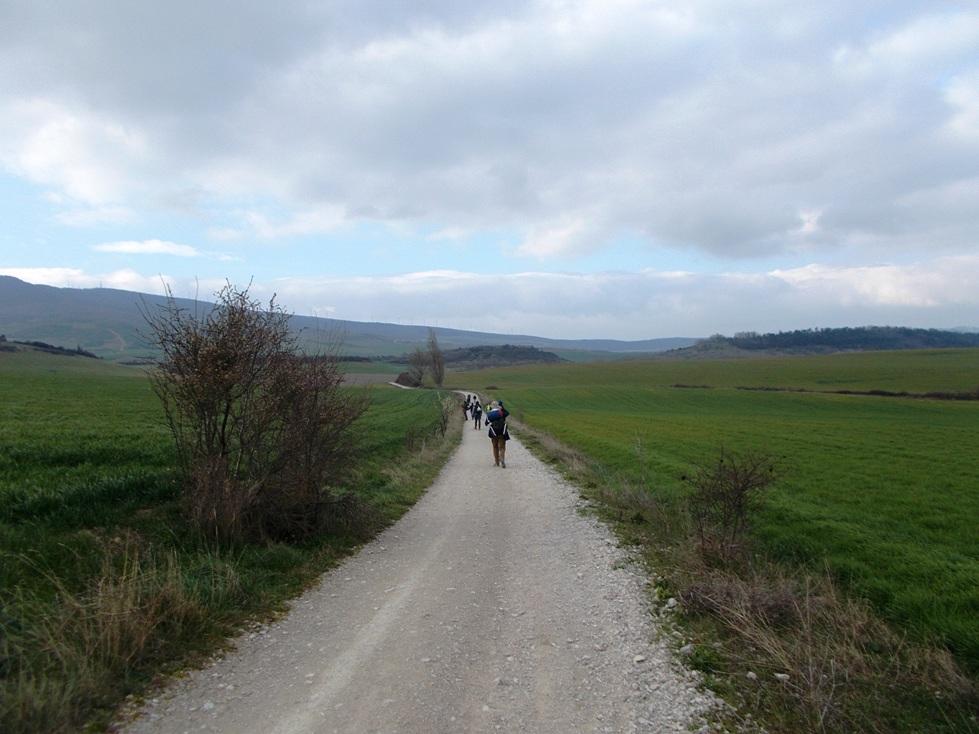 Der Camino Francés ist ein Jakobsweg in Spanien