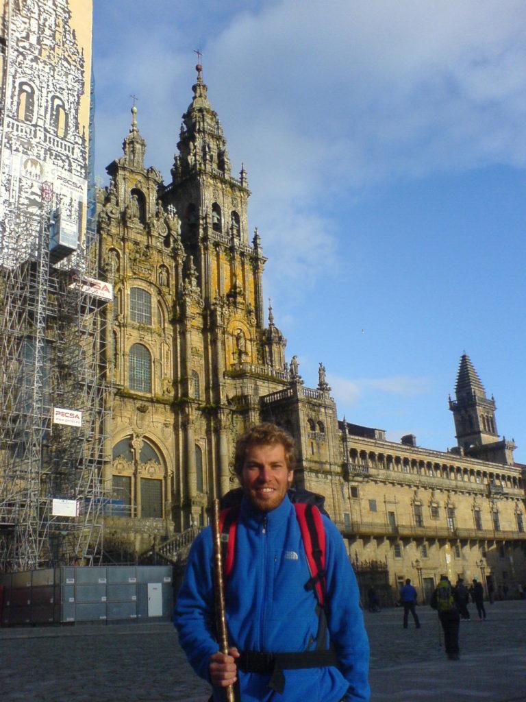 Ich in Santiago