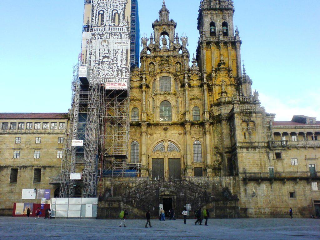 Pilgerziel Santiago in Spanien