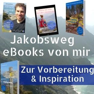 Meine eBooks zum Jakobsweg Minibanner