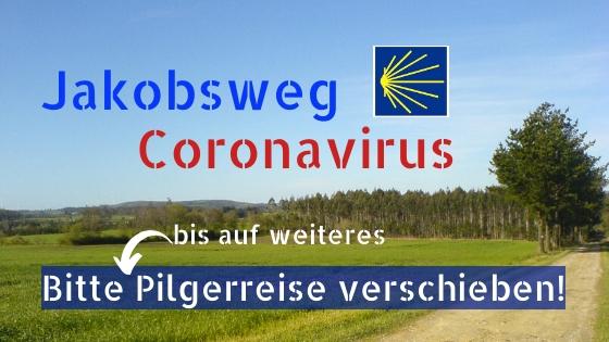 Coronavirus am Jakobsweg