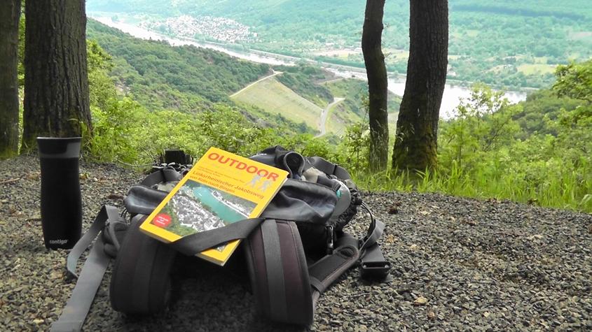 Pause auf dem deutschen Jakobsweg