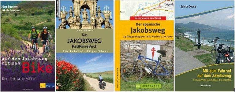 Bücher zum Radpilgern