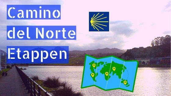 Camino del Norte Etappen