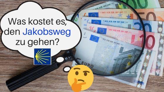 Jakobsweg Kosten