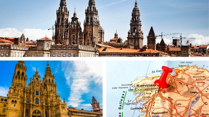 Santiago de Compostela Collage