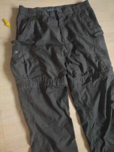 Trekkinghose mit zip off Möglichkeit